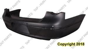 Bumper Rear Primed With Sensor Hole Sedan Capa Volkswagen Passat 2006-2010