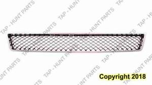 Grille Lower Matt-Black With Chrome Frame Without Off Road Package Chevrolet Suburban 2007-2014