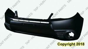 Bumper Front Primed With Fog Light Hole CAPA Subaru Forester 2009-2013