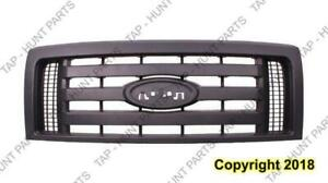 Grille Xl Textured Frame 3 Textured Bars Ford F150 2009-2012