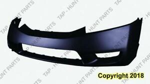 Bumper Front Primed Sedan/Hybrid CAPA Honda Civic 2009-2011