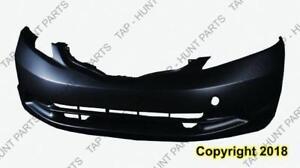 Bumper Front Primed Base Model Honda Fit 2009-2014
