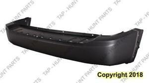Bumper Rear Primed Without Parking Sensor Without Trailer Hitch Jeep Liberty 2008-2012