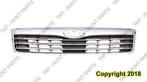 Grille Chrome/Gray Subaru Forester 2009-2013
