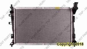 Radiator (13087) 2.0L L4 With AC Ford Focus 2008-2011