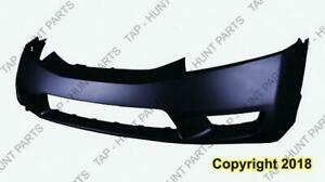 Bumper Front Primed Sedan/Hybrid High Quality Honda Civic 2009-2011