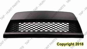 Grille Lower Black Coupe Kia Forte  2010-2013