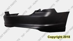 Bumper Rear Primed Without Park Assist Ford Fusion 2010-2012