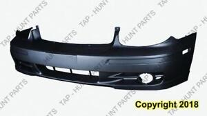 Bumper Front With Moulding/Side Lamp Hole CAPA Hyundai Sonata 2002-2005