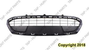 Grille Lower Center Dark Gray Sedan/Hatchback CAPA Ford Fiesta 2011-2013