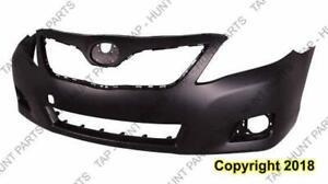 Bumper Front Primed With Jack Hook Hole Esc Hybrid Japan Built Toyota Camry 2010-2011