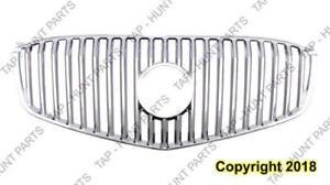 Grille Chrome Without Moulding Without Emblem [Cxl 2008-2009] [All Models 2010-2011] Buick Lucerne
