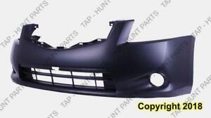 Bumper Front Sl Model Primed With Fog Light Hole Nissan SENTRA 2010-2012