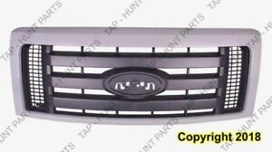 Grille Stx Fx4 Painted Frame 3 Textured Bar Ford F150 2009-2014