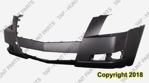 Bumper Front Primed With Hid With Head Light Washer Hole CAPA Cadillac CTS 2008-2014