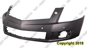 Bumper Upper Front Primed With Sensor/Washer Hole Cadillac SRX 2010-2012