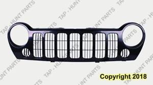 Grille Black Sport Without Fog Jeep Liberty 2005-2007