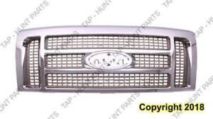 Grille King Ranch Gold With Chrome Frame Ford F150 2009-2014
