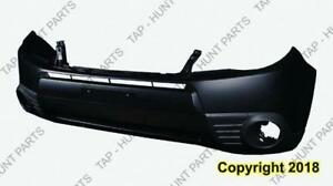 Bumper Front Primed With Fog Lamp Hole Subaru Forester 2009-2013