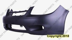 Bumper Front Ss 2.4L Without Spoiler Hole With Mold-In Fog Hole With Bar Primed CAPA Chevrolet Cobalt 2005-2010