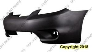 Bumper Front Base/Xr/Xrs Matt-Black Without Spoiler Hole Toyota Matrix 2005-2008