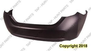 Bumper Rear Matt-Dark Grey Sedan Toyota Corolla 2014-2017