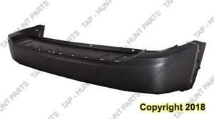 Bumper Rear Primed Without Parking Sensor Without Trailer Hitch CAPA Jeep Liberty 2008-2012