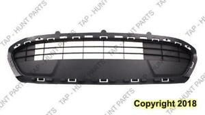 Grille Lower Center Gray Sedan/Hatchback Se Ford Fiesta 2011-2013