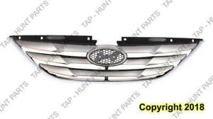 Grille Chrome/Black  Hyundai Sonata 2011-2013