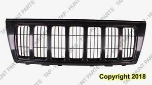 Grille Black Surround/Insert Laredo/Sport Models Jeep Grand Cherokee 2004