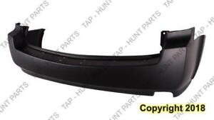 Bumper Rear Primed Without Sensor Hole Capa Nissan QUEST 2004-2009