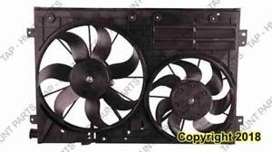 Cooling Fan Assembly Volkswagen Jetta 2005-2010