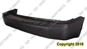 Bumper Rear Primed Without Parking Sensor With Trailer Hitch Jeep Liberty 2008-2012