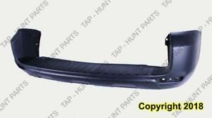 Bumper Rear Primed With Flare Hole CAPA Toyota Rav4 2009-2012