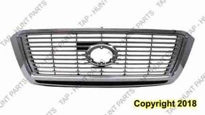 Grille Limited/Platinum Chrome/Black With Chrome Moulding Toyota Tundra 2010-2013