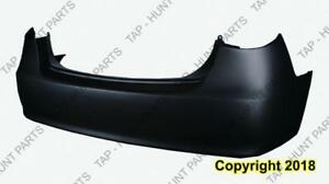 Bumper Rear Primed Sedan Hyundai Elantra 2007-2010