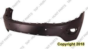 Bumper Front Upper Primed With Sensor Hole Ltd/Overland/Laredo Models CAPA Jeep Grand Cherokee 2014-2015