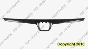 Grille Moulding 2.0L Matt-Black Honda Civic 2007-2008