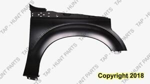 Fender Front Passenger Side Without Moulding CAPA Ford F250 F350 F450 F550 2011-2015
