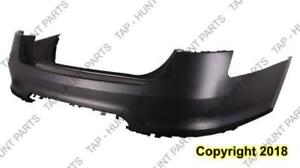 Bumper Rear Primed Without Sensor Hole Without Push Button Model Ford Taurus 2010-2012