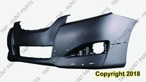 Bumper Front Primed With Spoiler Hole Toyota Matrix 2009-2013