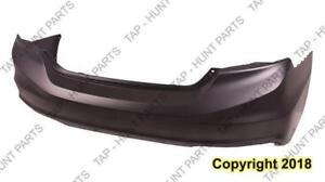 Bumper Rear Primed Sedan Si 2.4L CAPA Honda Civic 2013-2014