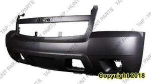 Bumper Front Primed Without Off Road CAPA Chevrolet Suburban 2007-2014