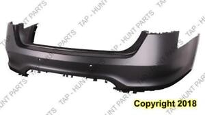 Bumper Rear Primed With Sensor Hole With Push Button Model  Ford Taurus 2010-2012