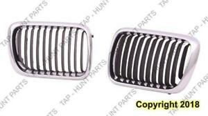Grille Driver Side Sedan BMW 3-Series (E36) 1992-1999