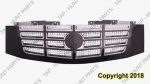 Grille Chrome With Black Frame Cadillac Escalade 2007-2014