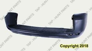 Bumper Rear Primed With Flare Hole Toyota Rav4 2009-2012