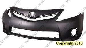 Bumper Front Primed Hybrid Usa Built Toyota Camry 2010-2011