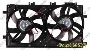 Cooling Fan Assembly 2.0L Turbo Buick Regal 2011-2012