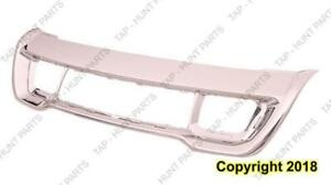 Grille Lower Frontame Front All Chrome Overland/Ltd/Laredo Code Mfd Or Mfe Jeep Grand Cherokee 2014-2016
